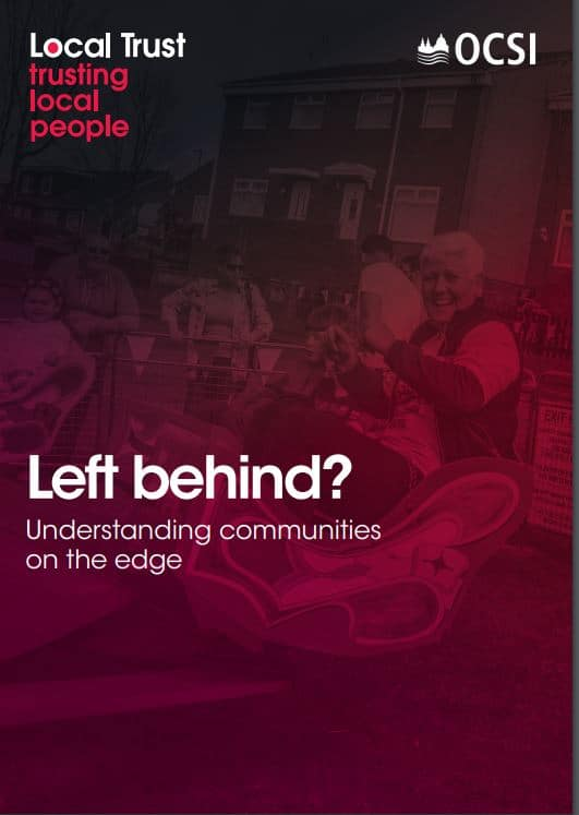 Left behind? Understanding communities on the edge